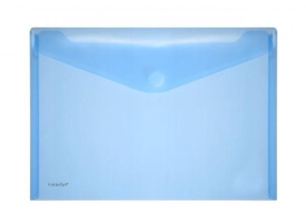 Sichttasche A4 quer mit Klettverschluss zur Aufbewahrung
