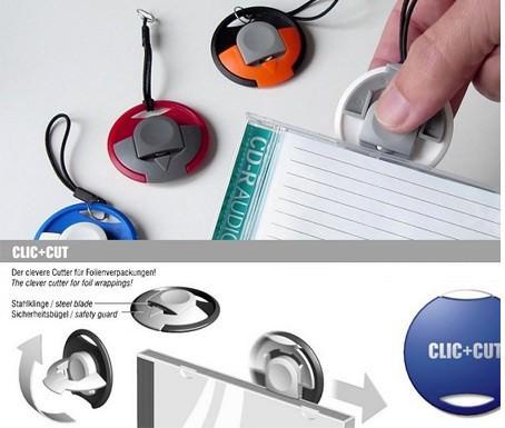 CLIC + CUT - Handlicher Folienschneider