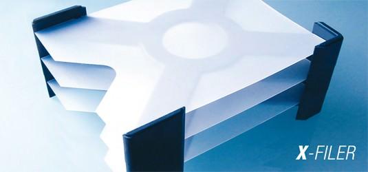 X-FILER Dokumentenablage (3 Elemente)