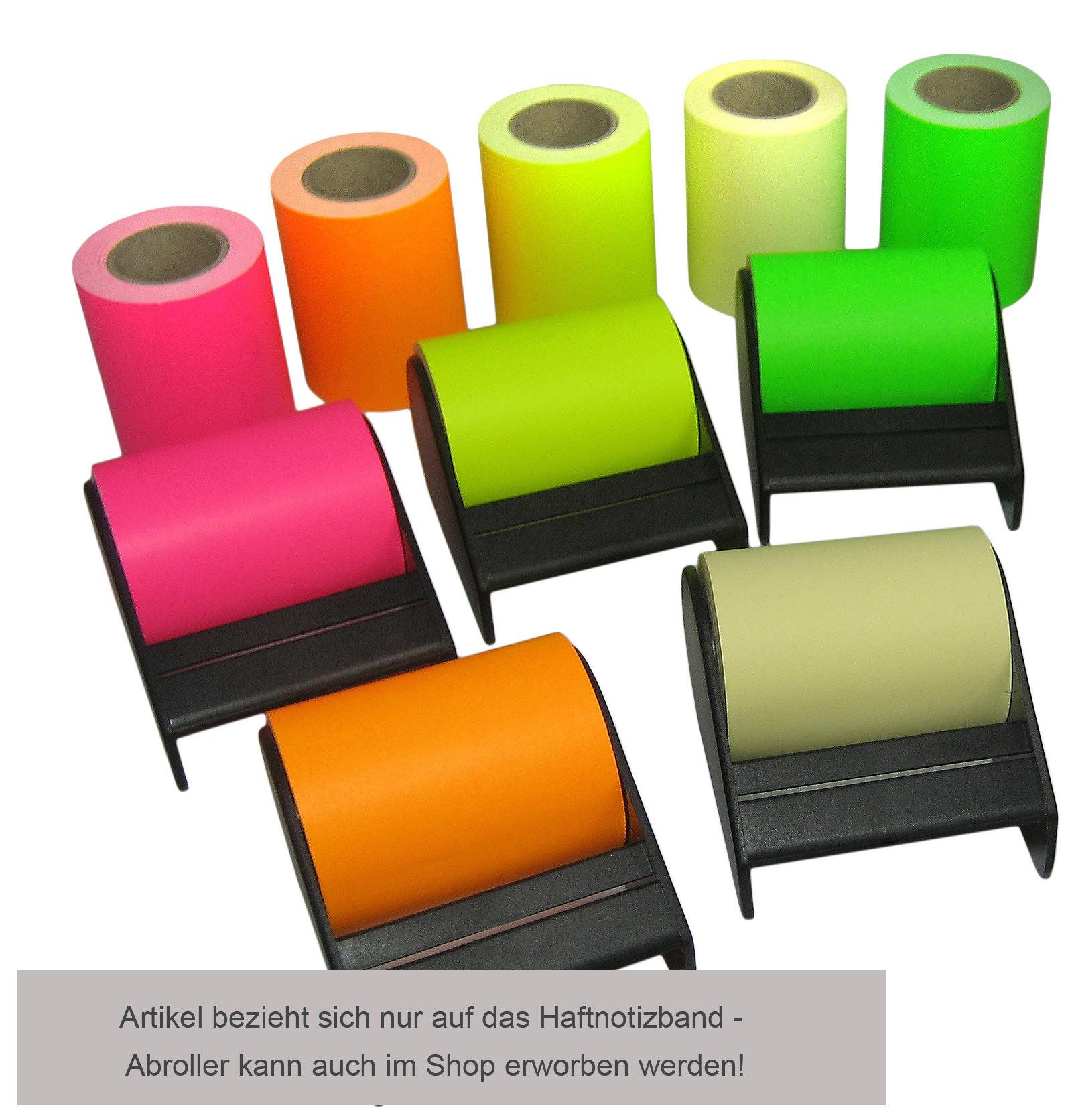 roll 39 n 39 write neon haftnotizband klebeband 10m 60mm postit neuheiten fixon. Black Bedroom Furniture Sets. Home Design Ideas